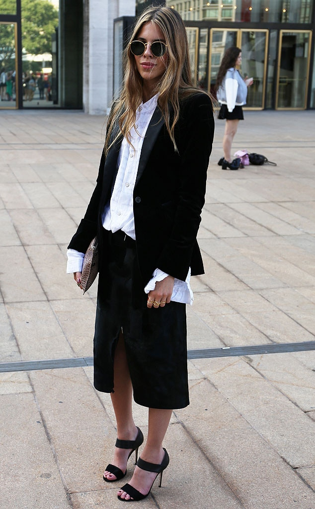 Maja Wyh From New York Fashion Week Spring 2015 Street Style E News