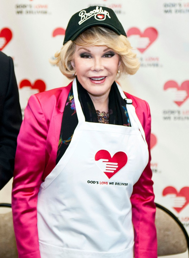 Joan Rivers, Charity