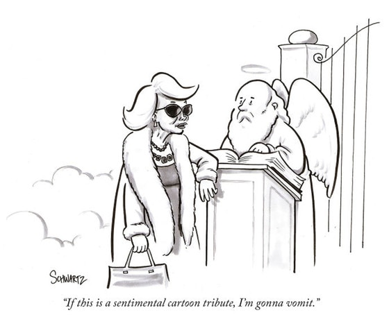 Joan Rivers Cartoon, The New Yorker
