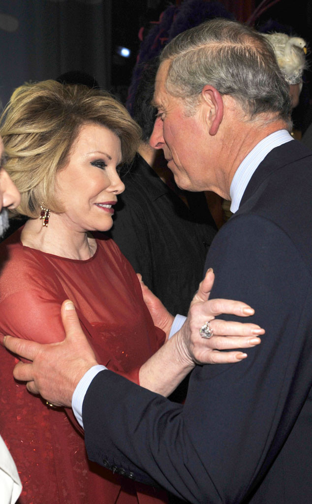 Joan Rivers, Prince Charles