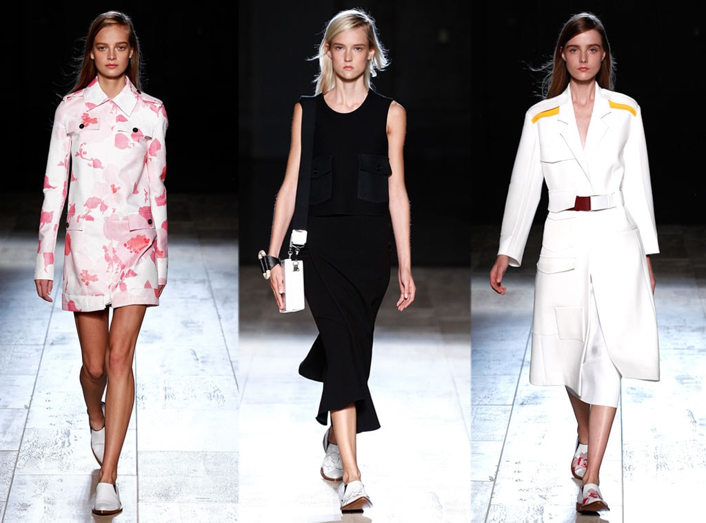 Victoria Beckham From Best Shows Of New York Fashion Week Spring 2015 E News