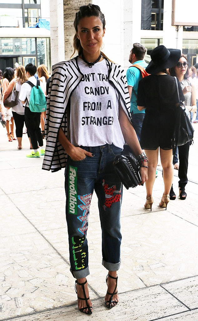 Martha From New York Fashion Week Spring 2015 Street Style E News