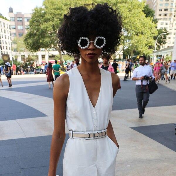 Carlitta From New York Fashion Week Spring 2015 Street Style E News