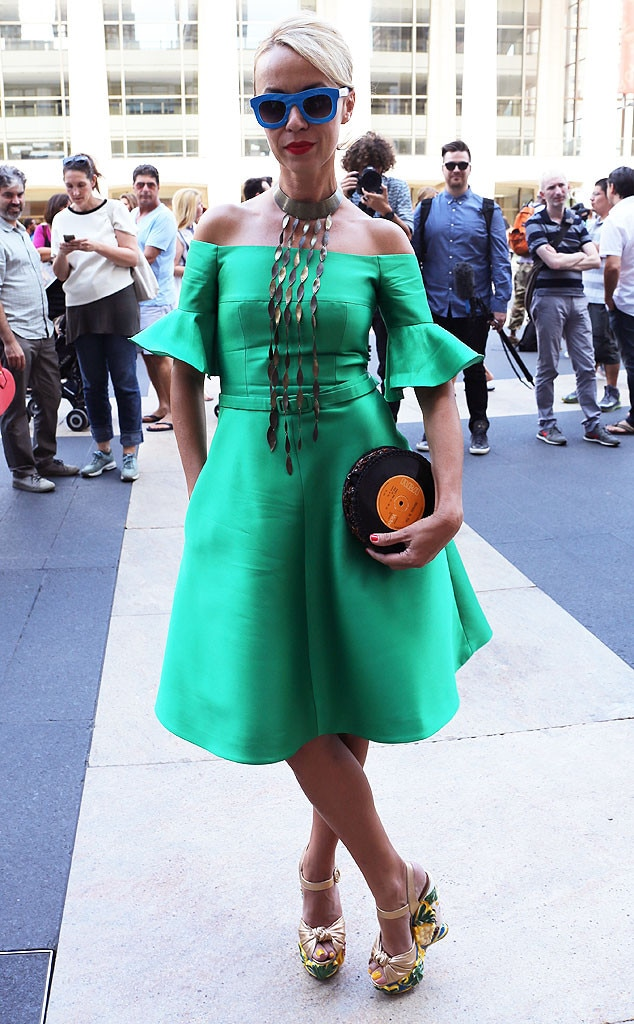Modiste From New York Fashion Week Spring 2015 Street