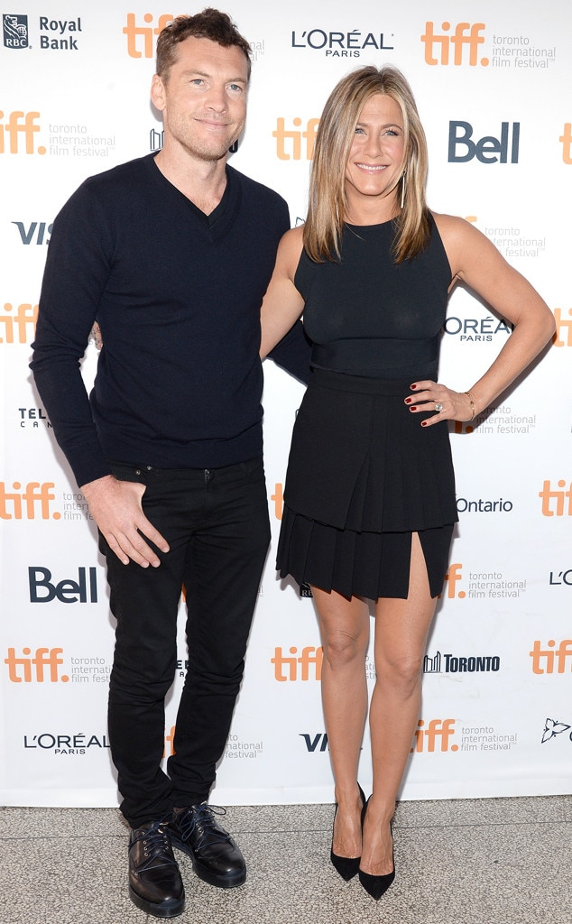 Sam Worthington, Jennifer Aniston