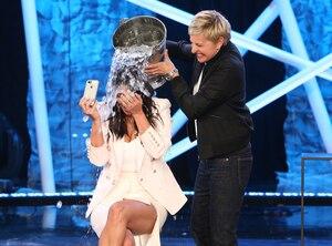 Kim Kardashian, Ellen Degeneres, Ice Bucket Challenge