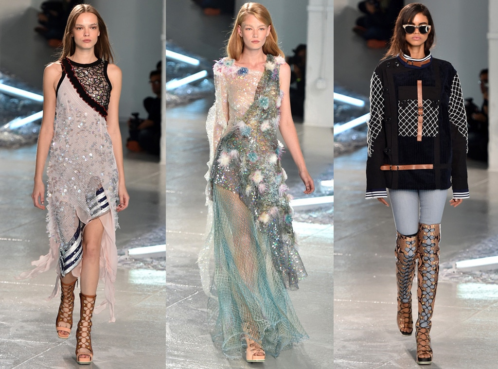 Rodarte from best shows of new york fashion week spring for Fashion exhibitions new york