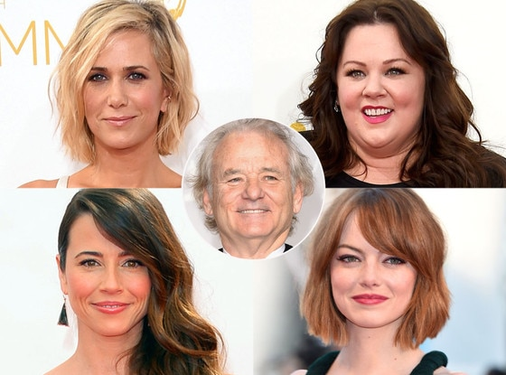 Kristen Wiig, Linda Cardellini, Emma Stone, Melissa Mccarthy, Bill Murray
