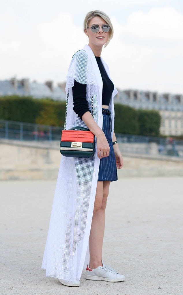 Sofie Valkiers From Street Style Paris Fashion Week Spring 2015 E News