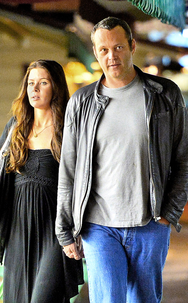 Vince Vaughn Holds Hands With Wife Kyla Weber During