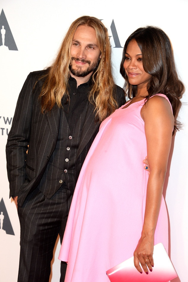 Zoe Saldana And Husband Marco Perego Expecting Twin Boys