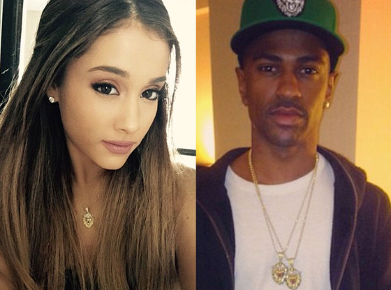 Ariana Grande, Big Sean, Matching Necklaces