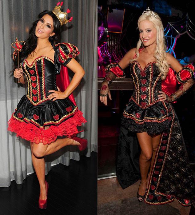 Halloween, Kim Kardashian, Holly Madison, Queen of Hearts