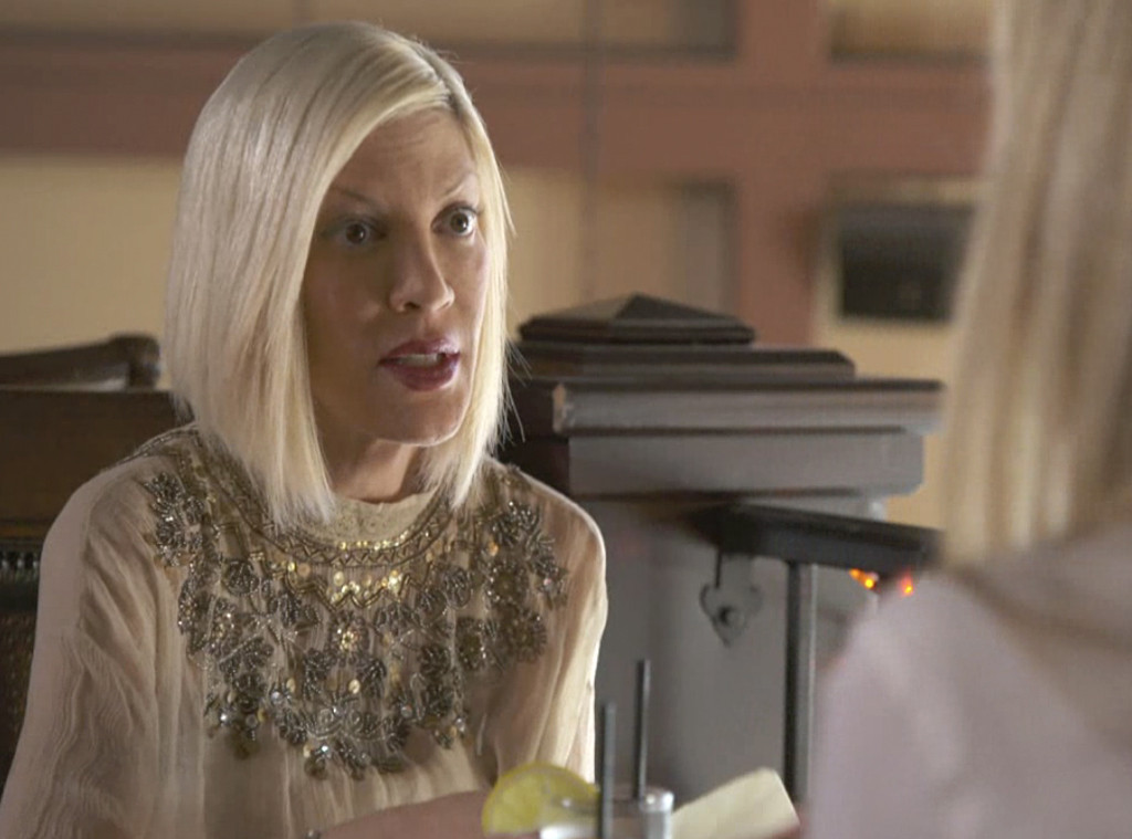 tori spelling finally sees what emily goodhand looks like after cheating scandal  she u0026 39 s