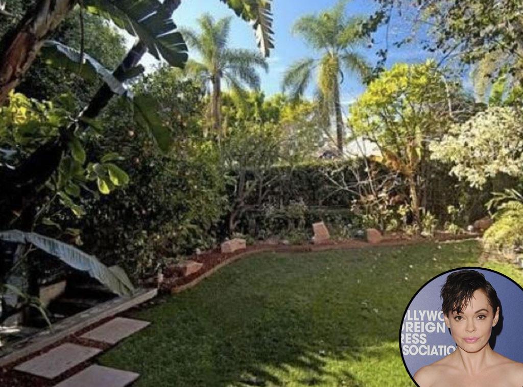 Rose Mcgowan From Celebrity Gardens Lush Landscapes E News Uk
