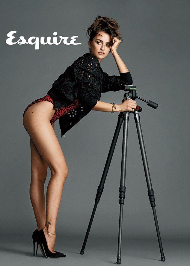 Penelope Cruz, Sexiest Woman Alive, Esquire