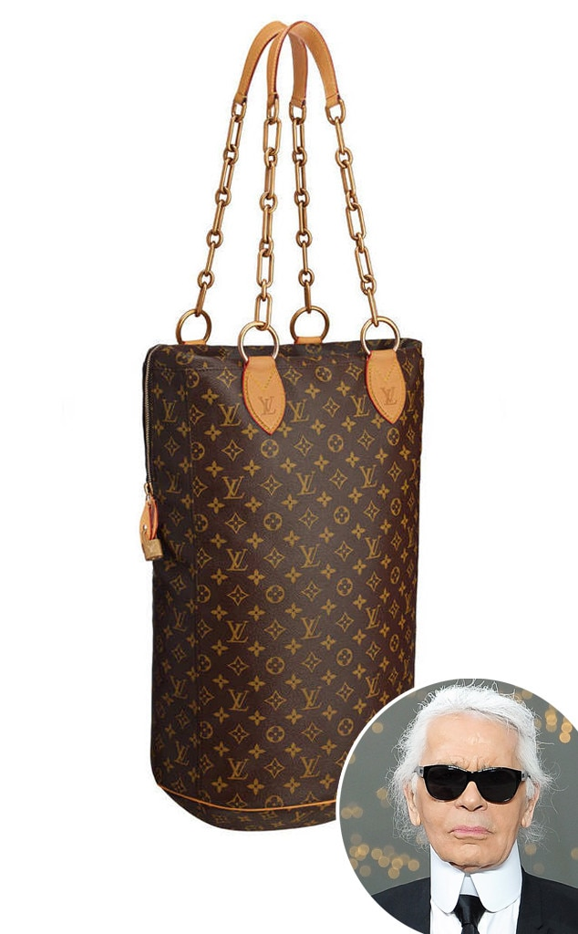 Karl Lagerfeld, Louis Vuitton Punching Bag