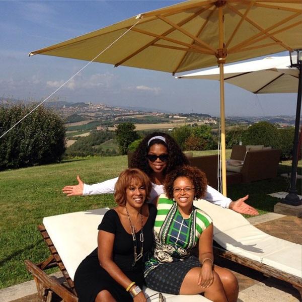 Oprah Winfrey, Gayle King, Instagram