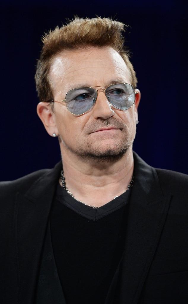 U2's Bono Explains His Signature Sunglasses: ''I've Had ...