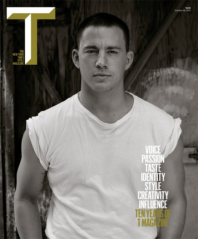 Channing Tatum, T Magazine