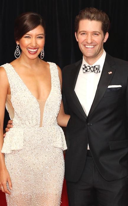 Glee Star Matthew Morrison Marries Renee Puente E News