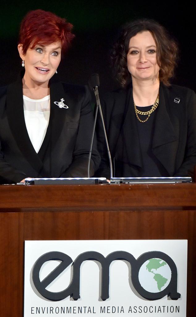 Sharon Osbourne, Sara Gilbert , EMA