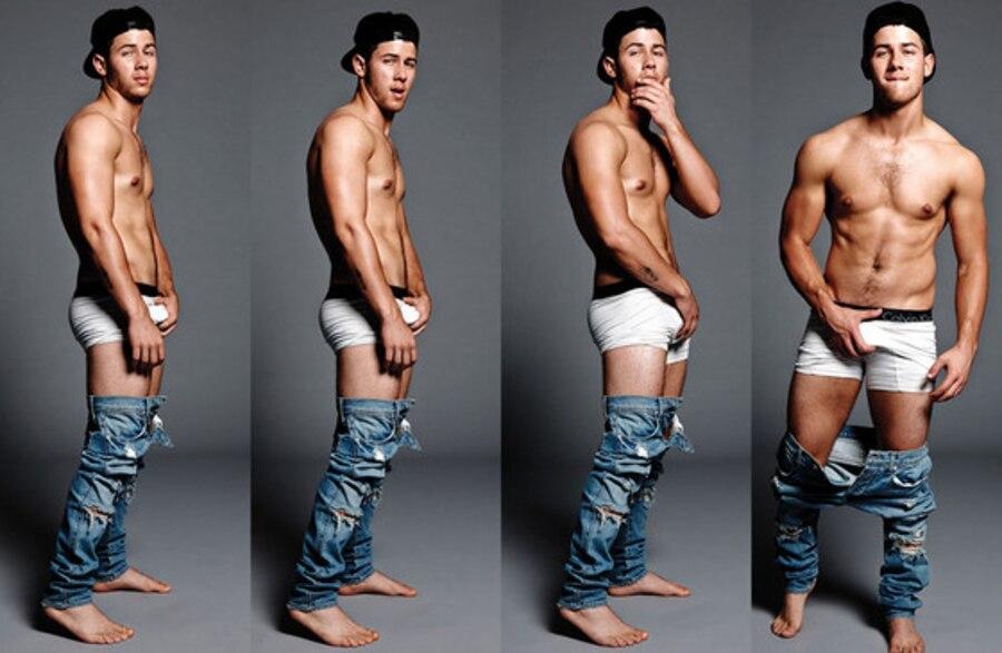 Nick Jonas, Flaunt