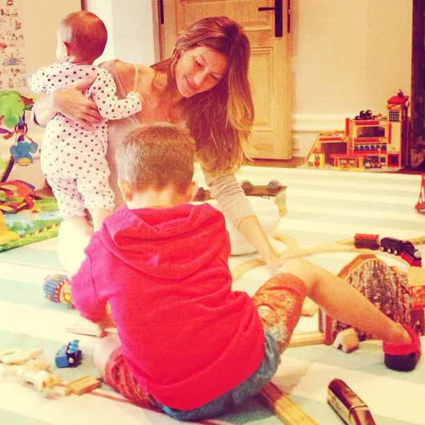 Gisele's Life as a Hot Mom