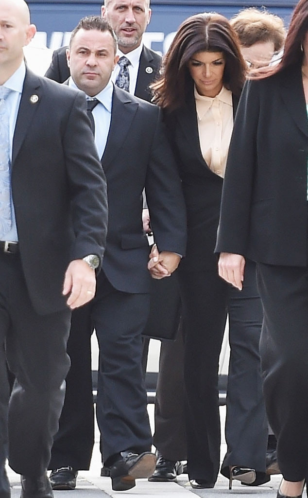 Joe Giudice, Teresa Giudice, Sentencing