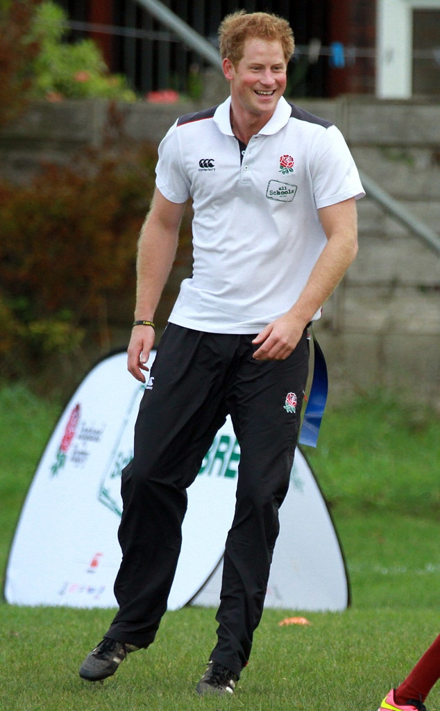 Cutest Rugby Player Ever?! Prince Harry Shows Off His ...