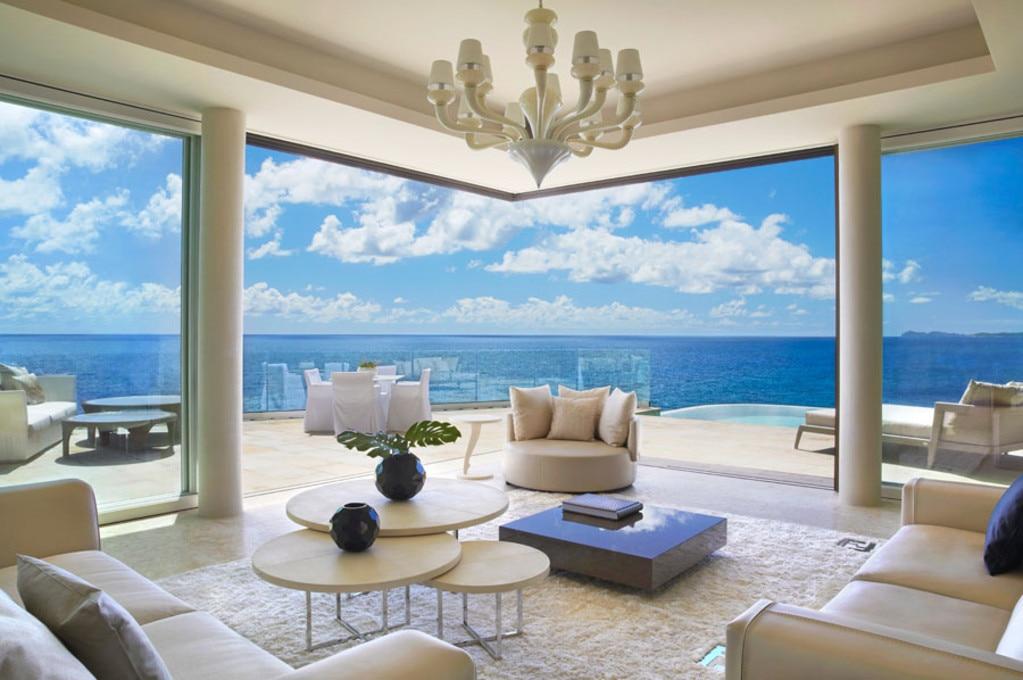 Дома в остров Тессалоники с видом на море
