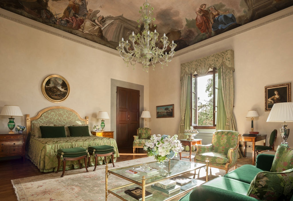 Renaissance suite at four seasons firenze from world 39 s for Most expensive hotel room