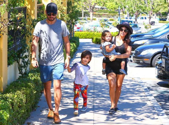 Kourtney Kardashian, Scott Disick, Family