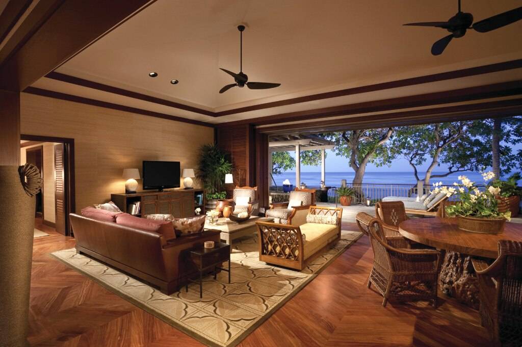 Hawaii Loa Presidential Villa At Hualalai From World S