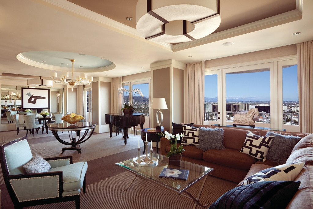 Presidential Suite East At Four Seasons Beverly Hills From