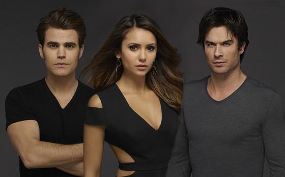 The Vampire Diaries, Nina Dobrev, Paul Wesley, Ian Somerhalder