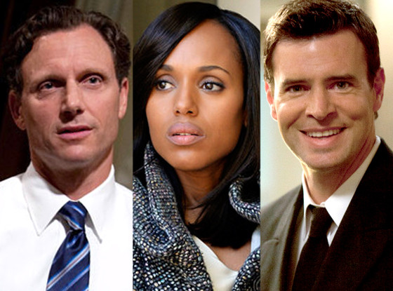 Kerry Washington, Tony Goldwyn, Scott Foley, Scandal