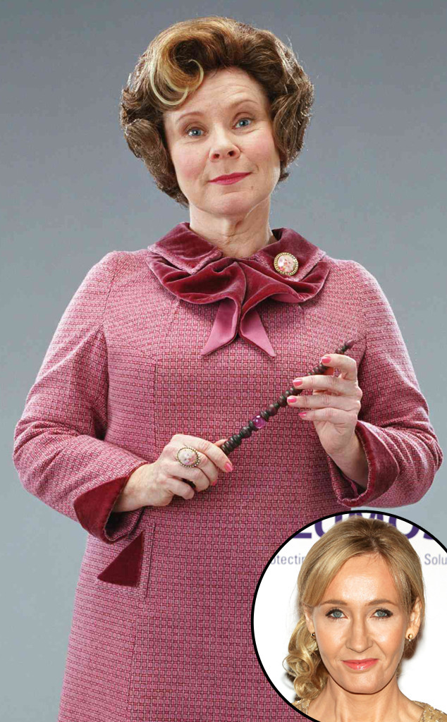 J.K. Rowling, Imedla Staunton