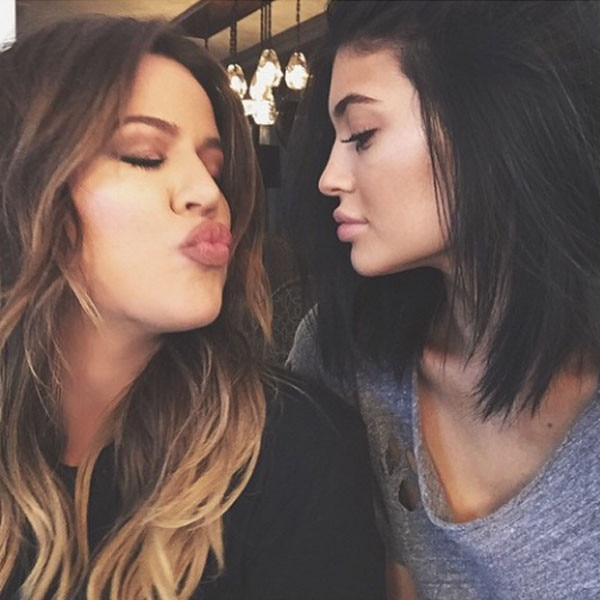 Khloe Kardashian, Kylie Jenner, Instagram