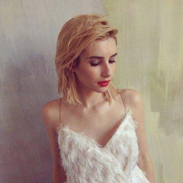 Emma Roberts, Hair