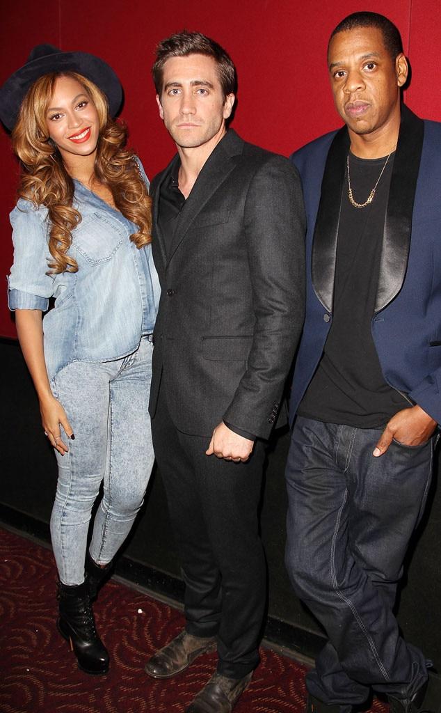 Beyonce, Jake Gyllenhaal, Jay Z