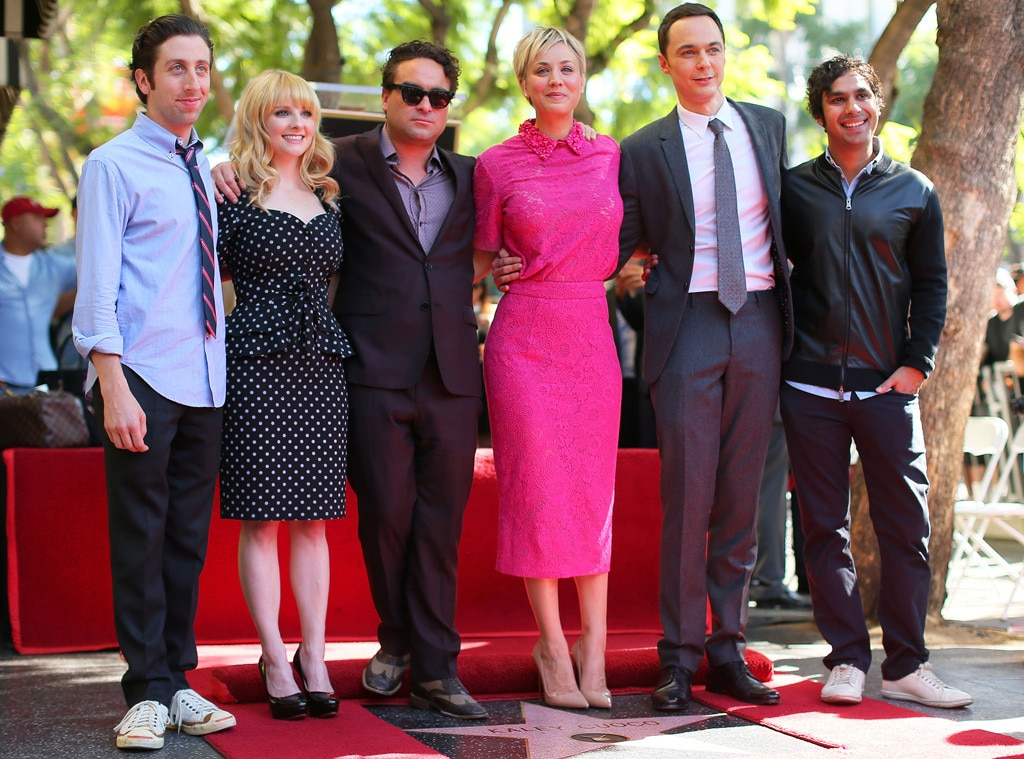 Kaley Cuoco, Big Bang Theory Cast