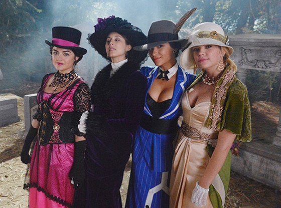 best halloween costumes on tv pretty little liars - Pretty Little Liars First Halloween Episode