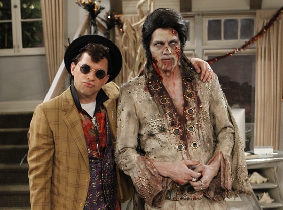 best halloween costumes on tv two and a half men - Tv Characters Halloween Costumes