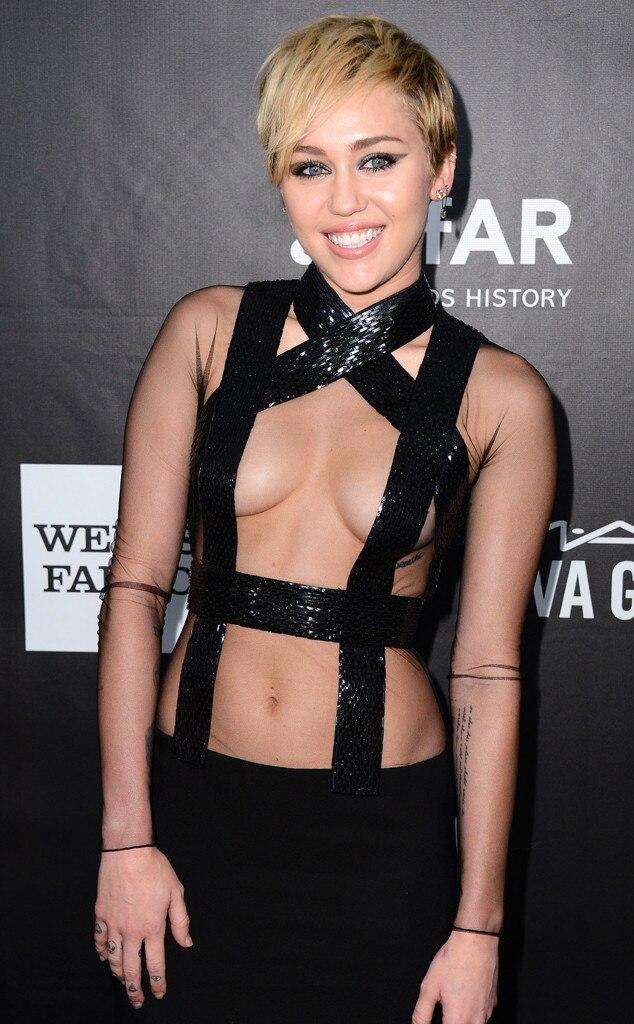 Miley Cyrus, amfAR Inspiration Gala