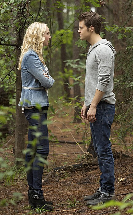 The Vampire Diaries, Paul Wesley, Candice Accola