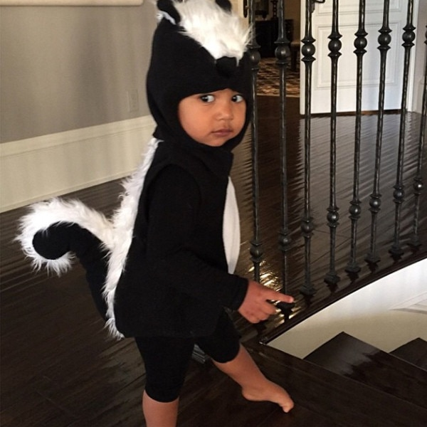 North West, Kim Kardashian, Instagram
