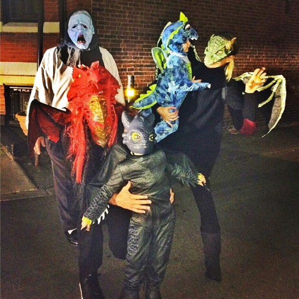 Celeb Halloween Instagrams