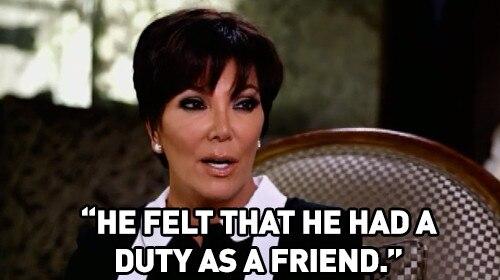Beyond Candid, Kris Jenner