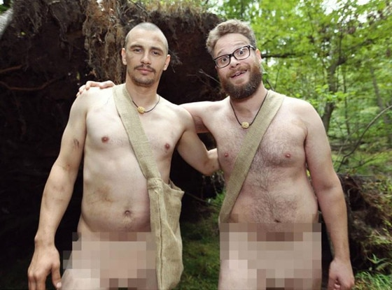 James Franco and Seth Rogen Take on Naked and Afraid ...